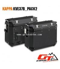 KVE37ฺB_PACK2 อลูมิเนียม สีดำ -37 ลิตร