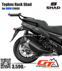 Topbox Rack for BMW C400X by SHAD