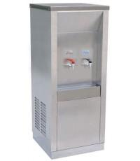 ตู้ทำน้ำเย็นสแตนเลส ร้อน 1 ก๊อก เย็น 1 กีอก
