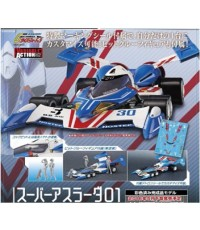 ~ MegaHouse : Variable Action Future GPX Cyber Formula Super Asurada 01 Custom Edition (PVC,ABS)~