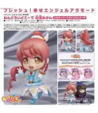 ~ Good Smile : PriPara : Nendoroid Co-de: Mikan Shiratama - Silky Heart Cyalume Co-de (PVC Figure) ~
