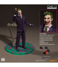 ~ Mezco : ONE:12 Collective: DC Comics Batman : Joker (1/12 Action Figure)~