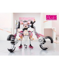 Bandai : Armor Girls Project Super Sonico with Super Bike Robo (10th Anniversary) (PVC Figure)
