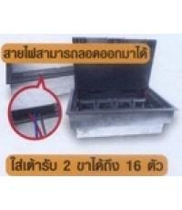เต้ารับฝังพื้น HACO-ฝาแบบเสียบภายใน INTERNAL-CONNECT FLOOR-OUTLETS-HPU-32AW/*