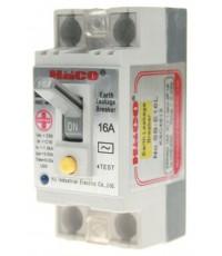 เบรกเกอร์กันดูด (ป้องกันไฟดูด มีสัญญาณไฟสีฟ้า)-HACO-SB-E25L