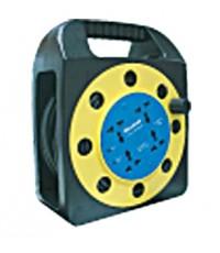 ชุดปลั๊กต่อแบบม้วนสายไฟ Extension Reel Sockets-HACO-EP-RCD4U