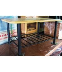 โต๊ะกลางหน้าไม้