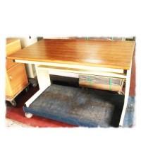 โต๊ะทำงานเหล็กหน้าเมลามีน