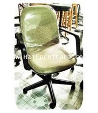 เก้าอี้สำนักงานเบาะผ้า เท้าแขน
