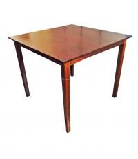 โต๊ะไม้ สี่เหลี่ยมจตุรัส 107*107*75 ซม.