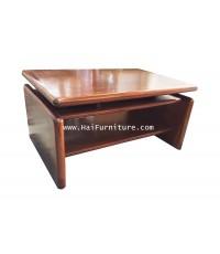 โต๊ะกลางรับแขกไม้ 90*60*45 ซม.