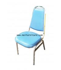 เก้าอี้จัดเลี้ยง ขาชุบโครเมี่ยม
