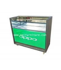 ตู้แสดงสินค้ากระจก พร้อมไฟส่อง 120*50*98 ซม.