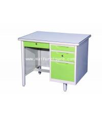 โต๊ะทำงานเหล็ก 3 ฟุต Grade B 92.8*67*75.3 ซม.