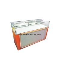 ตู้แสดงสินค้า ฐานส้ม 148.5*50*99 ซม.