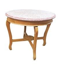 โต๊ะข้าวมันไก่หน้าหินขัด ปี 1930 90*80 ซม.