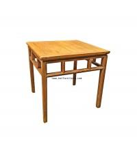 โต๊ะอาหารจีนโบราณ ปี 1890 75*75*75 ซม.