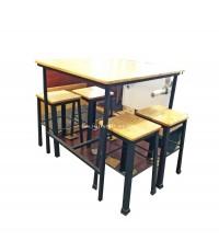 ชุดโต๊ะอาหาร PLEEX Design สำหรับ 4 ที่ 75*75*75 ซม.