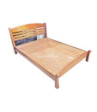 เตียงไม้ 5 ฟุต Nenti 157*214*100 cm