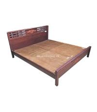 เตียงไม้ Bovy ปี 1980 6 ฟุต 188*210*95 ซม.