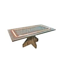 โต๊ะอาหารหินแกรนิตแท้ Magnificent 180*90*76 cm