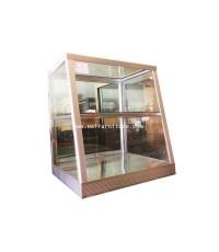 ตู้โชว์อาหาร 2 ชั้น 2 ฟุต 57*53.5*66 cm