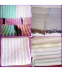 ผ้าห่มฝ้ายทำมือ