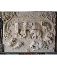 ช้าง 9 เชือก (01) แบบลอยตัวสูง