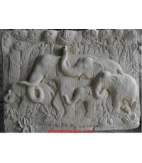 ช้าง 5 เชือก น้ำริน