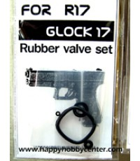 Rubber valve set For R17 Glock 17
