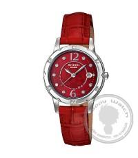 นาฬิกา Casio Sheen 3-hand analog รุ่น SHE-4021L-4ADF (ประดับด้วย SWAROVSKI )