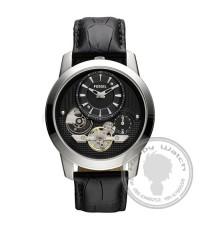นาฬิกาข้อมือ Fossil รุ่น ME1113 Fossil Men\'s Analogue Twist Aesthetics Leather Strap Black