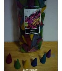 กำยาน กลิ่นรวม Frankincense Mixe Odor (EN)  Dupa Kerucut Mixed Harum (Bahasa)