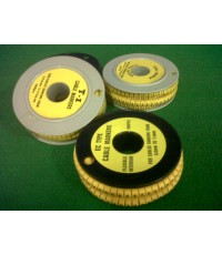 EC TYPE CABLE MARKERS 3.6mm. to 7.4mm.