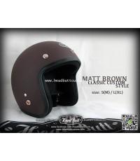 Headbutt Helmet / MATT Brown (สีน้ำตาลด้าน)
