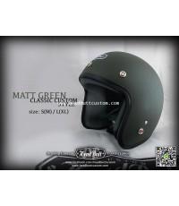 Headbutt Helmet / MATT Green (สีเขียวขี้ม้าด้าน)