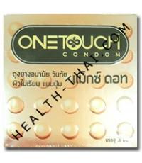 HOT - One Touch Maxx Dot ถุงยางอนามัย วันทัช แมกซ์ดอท - ถุงยาง มีปุ่ม (ผิวคางคก) 52 มม. - 1 โหล