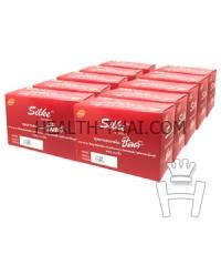 Silke Condom ถุงยางอนามัย ซิลค์ - ถุงยาง รุ่นประหยัด ผิวเรียบ 49 มม. - 1000 ชิ้น