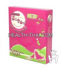 Endoo Pink 52 ( ถุงยางอนามัย เอ็นดู พิงค์ 52 ) - ถุงยาง สตรอเบอรี่ 52 มม. - 1 กล่อง