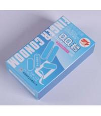 Finger Condom (cool mint) , จำนวน 1 กล่อง (10 ชิ้น) สุตรเย็น