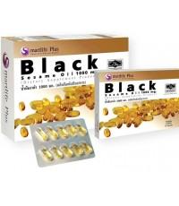 Smartlife Plus ฺBlack Sesame Oil น้ำมันงาดำ 1000 มก.ขนาด 60 แคปซูล