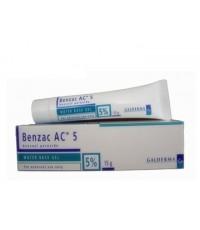 Benzac AC 5 15g x 1 หลอด