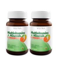 Vistra Multivitamins  Minerals PLUS AMINO ACID 50 แคปซูล
