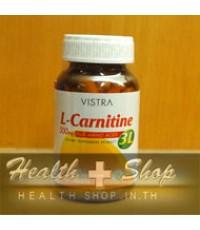 Vistra L-Carnitine 500 mg Plus Amino Acids 3L 60 tablets 1ขวด
