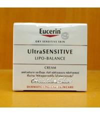 Eucerin Ultra Sensitive Lipo- Balance Cream 50 ml