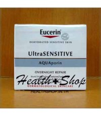 Eucerin UltraSensitive AQUAporin Overnight Repair 50 ml