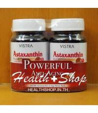 Vistra Astaxanthin 6mg Plus Vitamin E 30 แคปซูล x 2