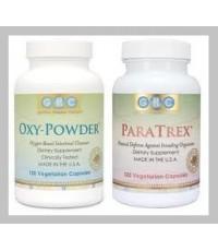 Oxy Powder 4 แคปซูล + Paratrex 2 แคปซูล ... สำหรับทาน 1 มื้อ