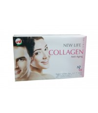 NEW LIFE COLLAGEN ผลิตภัณฑ์หนึ่งเดียวที่ให้คุณครบ 4 in 1 Collage