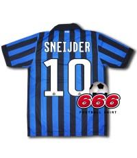 10 Sneijder เสื้อบอล เสื้อฟุตบอล ทีม อินเตอร์ มิลาน เหย้า Inter Milan home ฤดูกาล 2011-2012